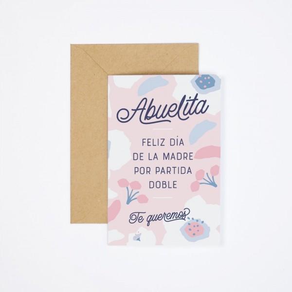 """Postal """"Abuelita, feliz Día de la Madre"""""""