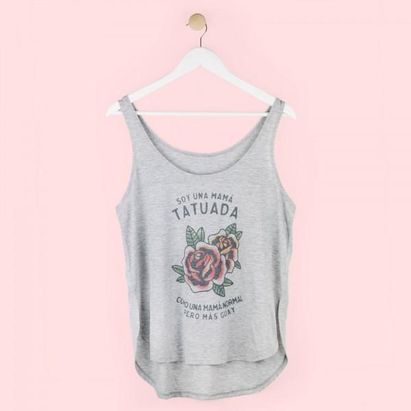 "Camiseta tirantes ""Mamá tatuada"""