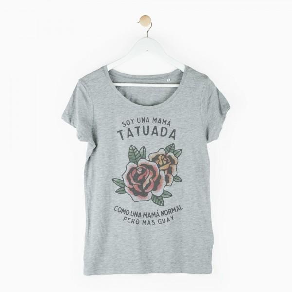 "Camiseta ""Mamá tatuada"""