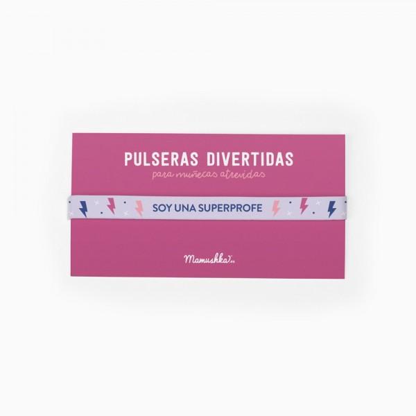 "Pulsera ""Soy una superprofe"""