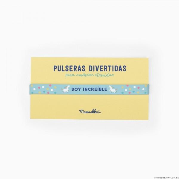 """Pulsera """"Soy increíble"""""""