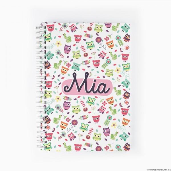 Cuaderno Búhos