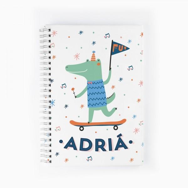 Cuaderno Cocodrilo
