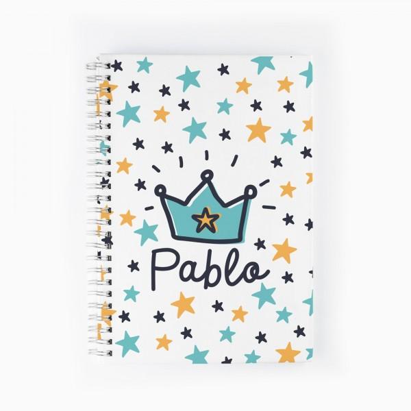Cuaderno Corona azul