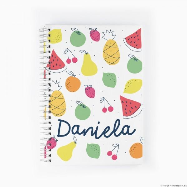 Cuaderno Tutti Frutti