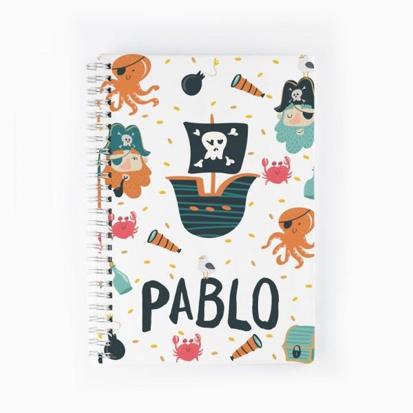 Cuaderno Piratas
