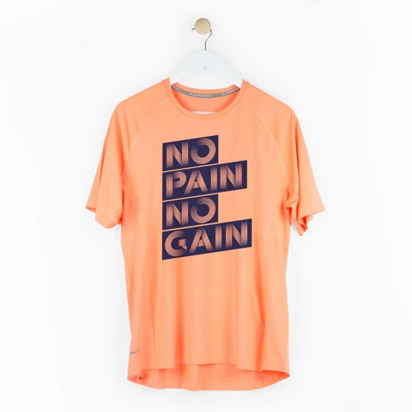 "Camiseta chico ""No pain no gain"""