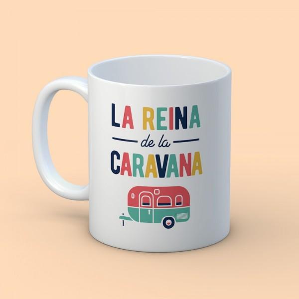 """Taza """"La Reina de la caravana"""""""