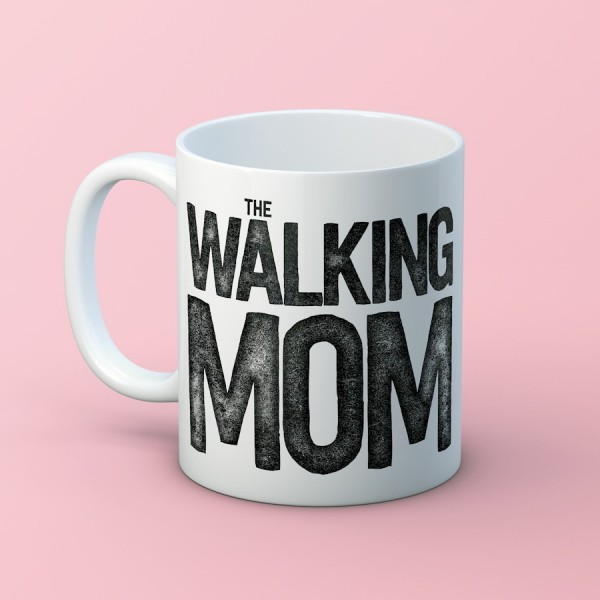 "Taza ""Walking Mom"""