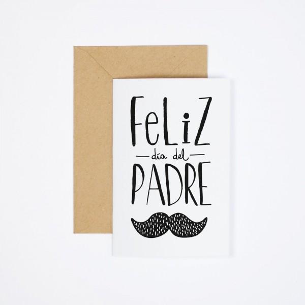 """Postal """"Feliz Día del Padre"""""""