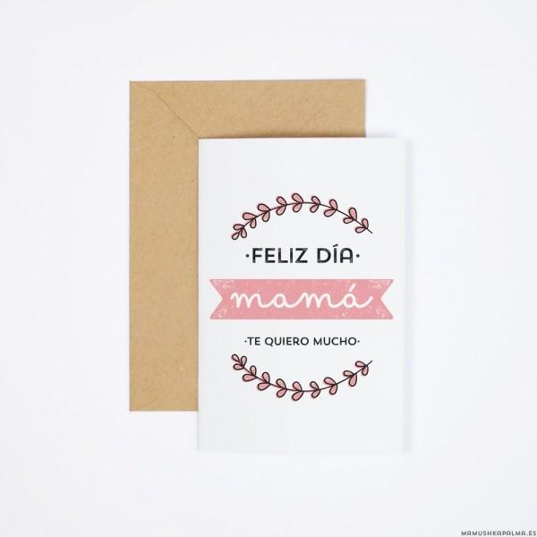 """Postal """"Feliz Día de la Madre"""""""