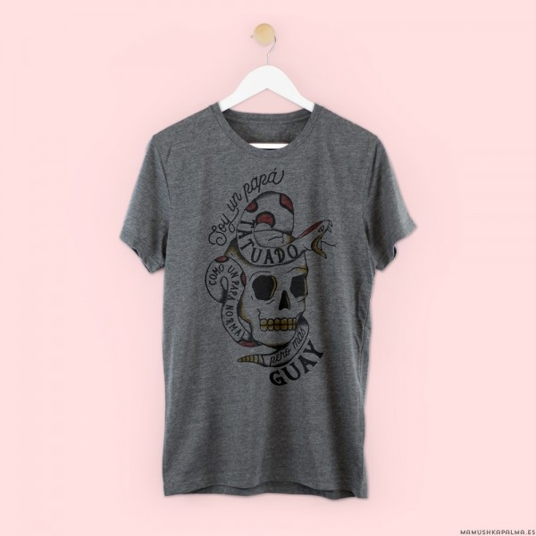 """Camiseta """"Papá tatuado"""""""