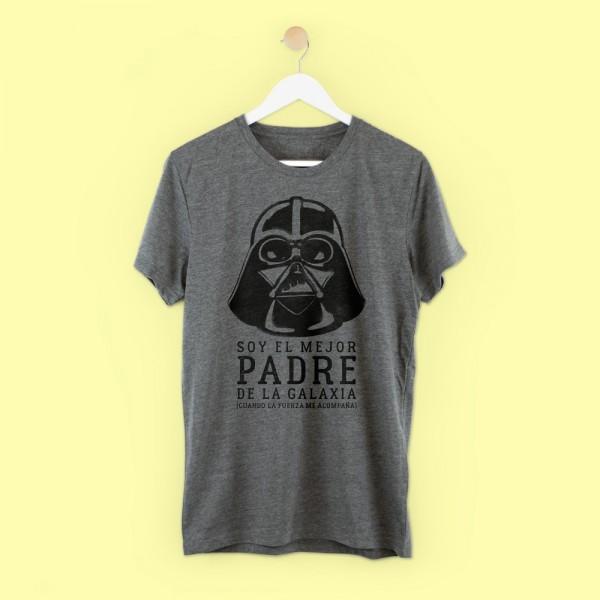 """Camiseta """"Soy el mejor padre de la galaxia"""""""
