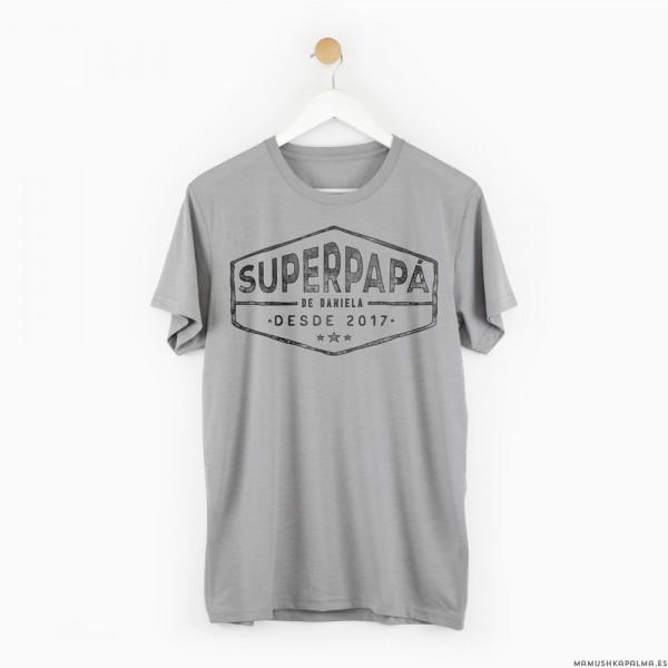 "Camiseta personalizada ""Superpapá"""