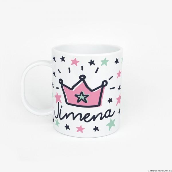 Taza Corona rosa