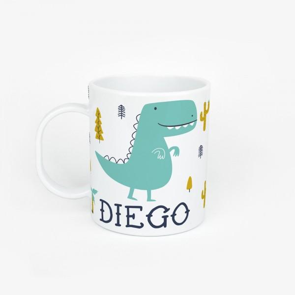 Taza dinosaurio