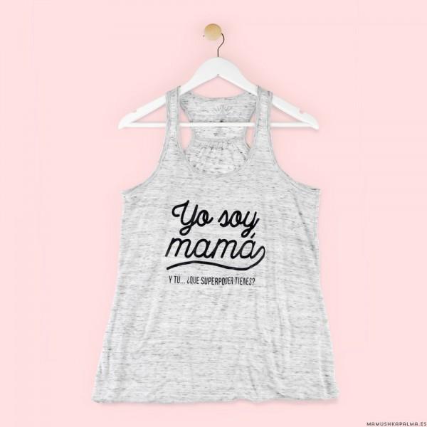 """Camiseta """"Yo soy mamá"""""""