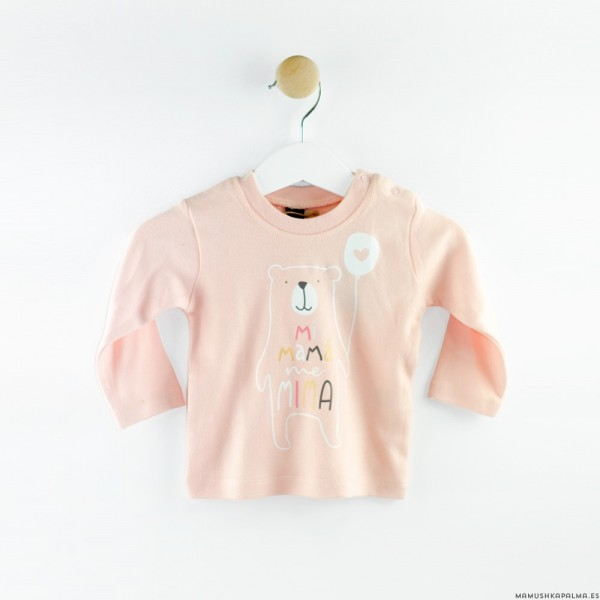 """Camiseta """"Mi mamá me mima"""""""