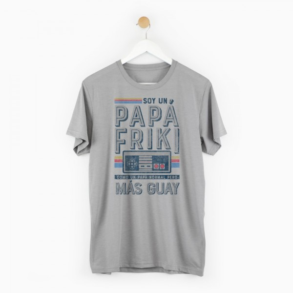 "Camiseta ""Papá friki"""