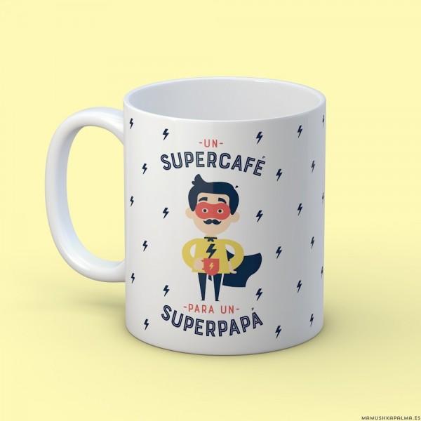 "Taza ""Superpapá"""