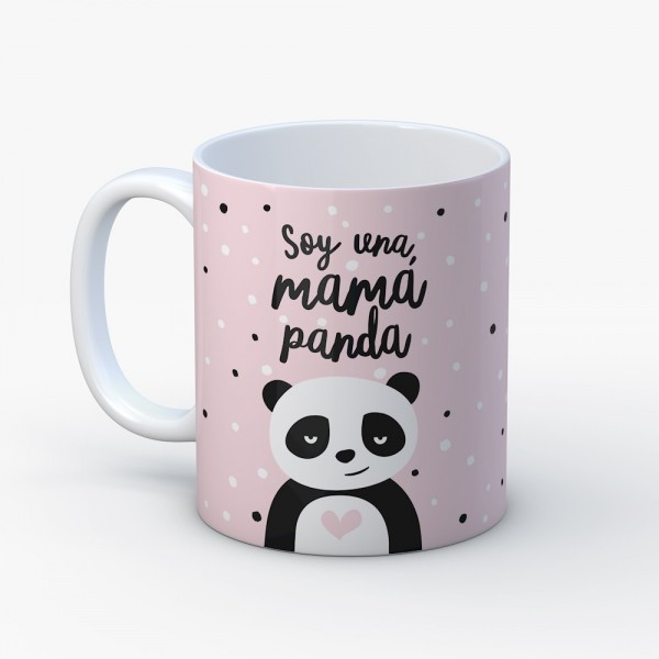 "Taza ""Mamá panda"""