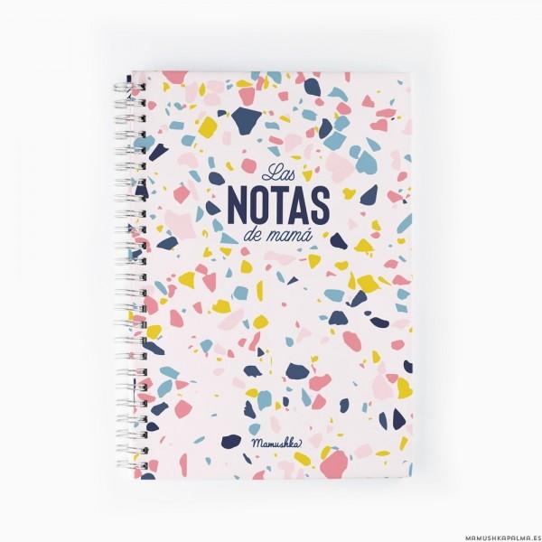 """Libreta """"Las notas de mamá"""""""