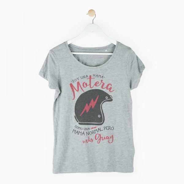 "Camiseta ""Mamá motera"""