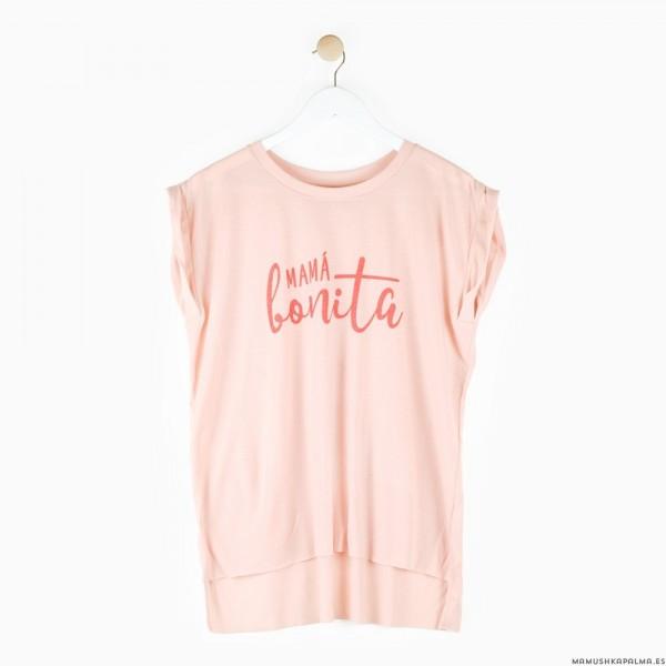 """Camiseta """"Mamá bonita"""""""