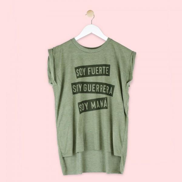 "Camiseta ""Mamá guerrera"""