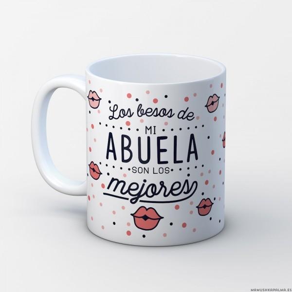 """Taza """"Los besos de mi abuela"""""""