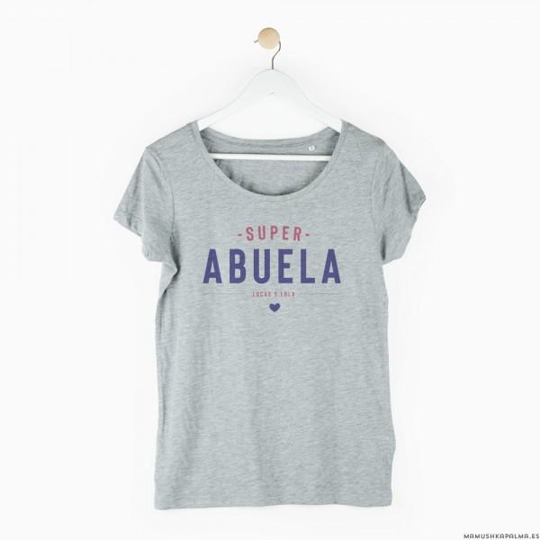"""Camiseta personalizada """"Superabuela"""""""