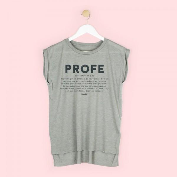 """Camiseta chica """"Profe definición"""""""