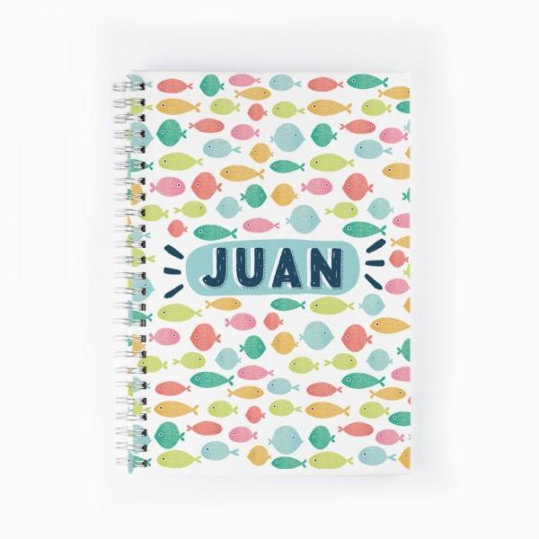 Cuaderno Peces