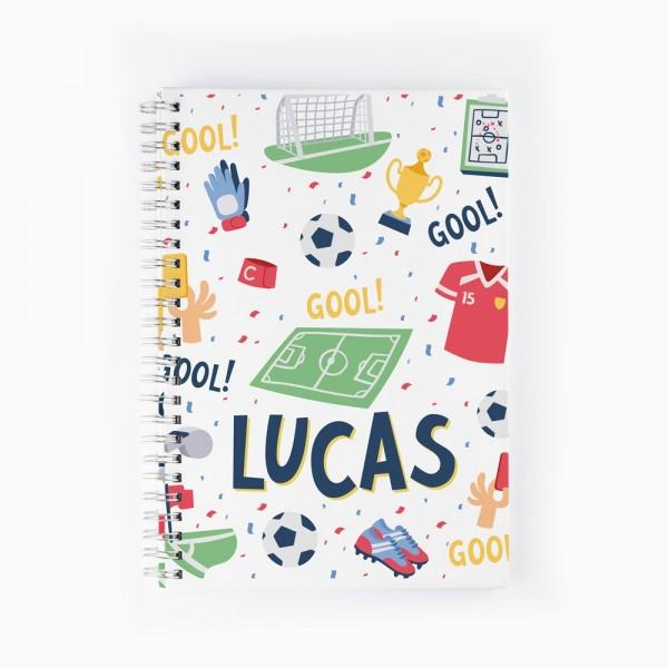 Cuaderno Fútbol