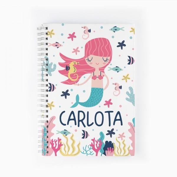 Cuaderno Sirena