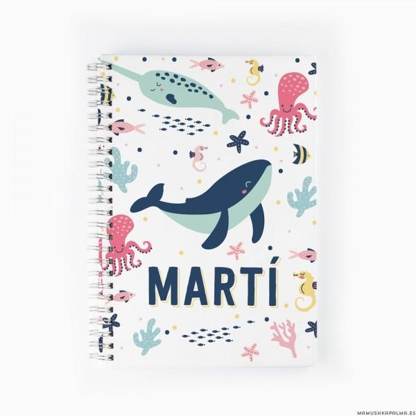 Cuaderno Mundo Marino