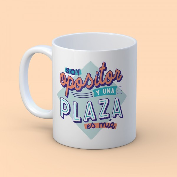 "Taza ""Soy opositor"""