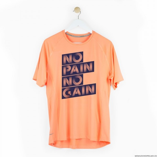 "Camiseta chico ""No pain no gain"""