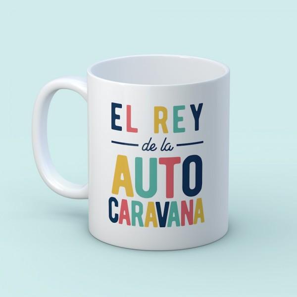 "Taza ""El Rey de la autocaravana"""