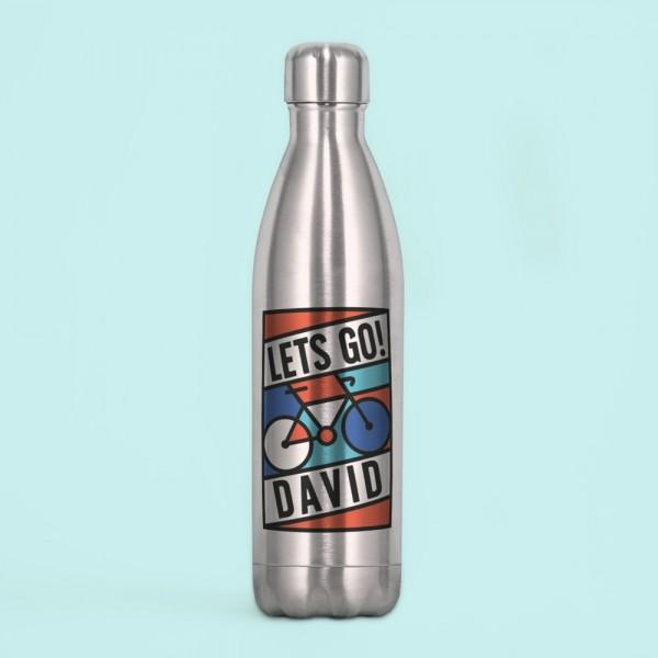 "Botella acero inox ""Cyclist"""