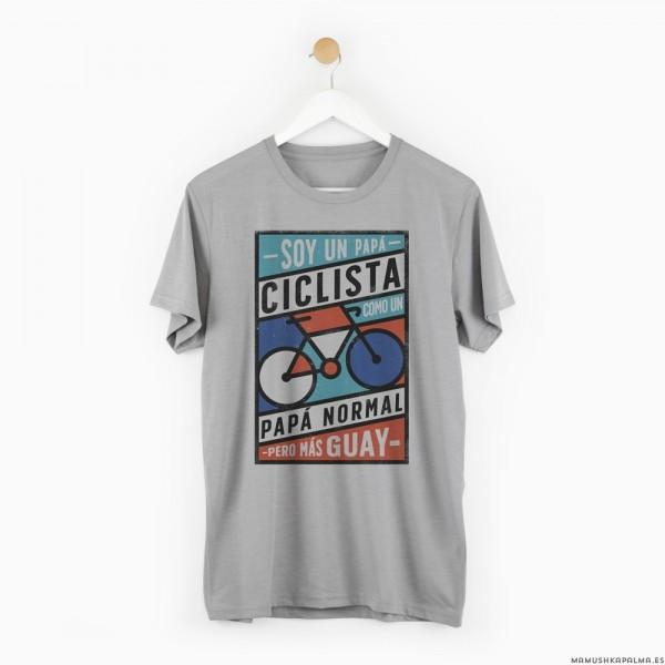 """Camiseta """"Papá ciclista"""""""