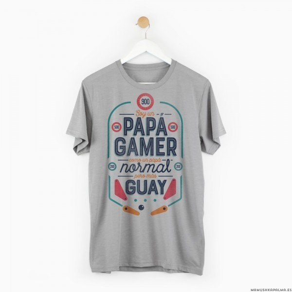 "Camiseta ""Papá gamer"""