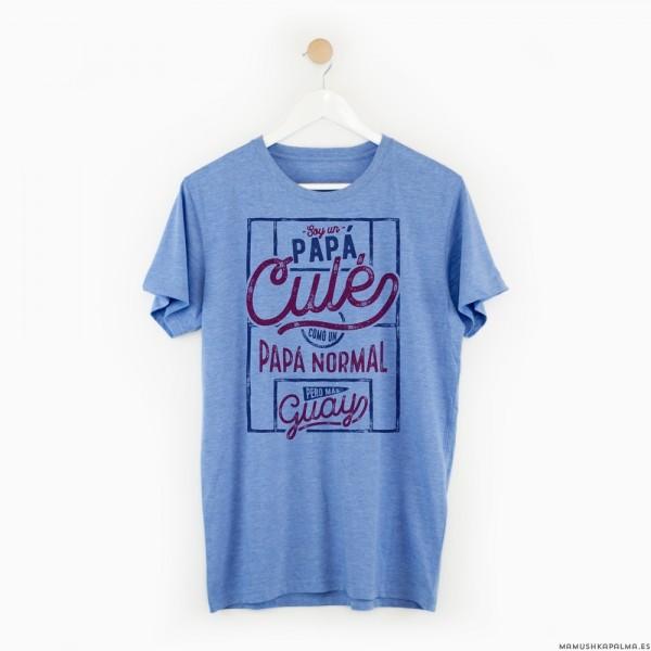 """Camiseta """"Papá Culé"""""""