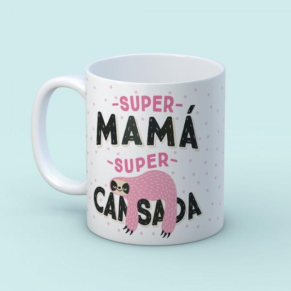 "Taza ""Supercansada"""