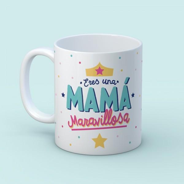"""Taza """"Mamá maravillosa"""""""