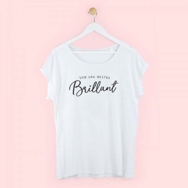 "Camiseta ""Profe brillante"""