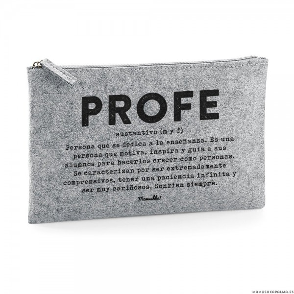 "Estuche ""Profe definición"""