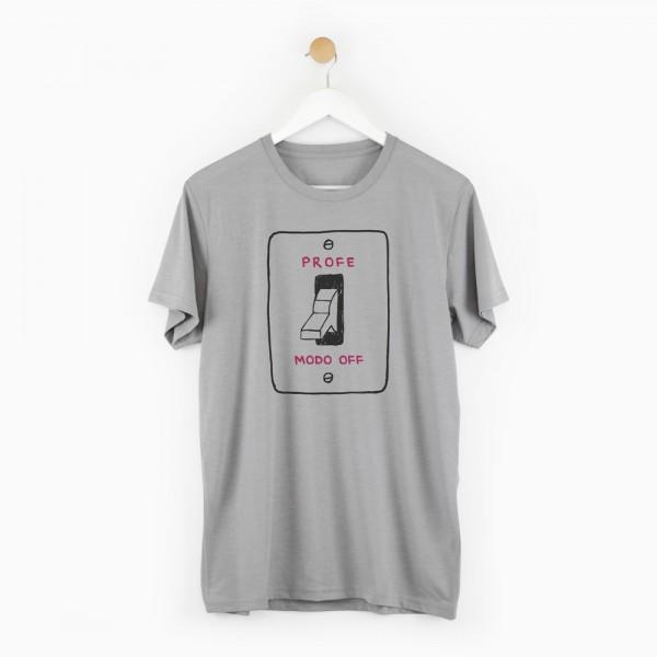 "Camiseta ""Profe modo off chico"""