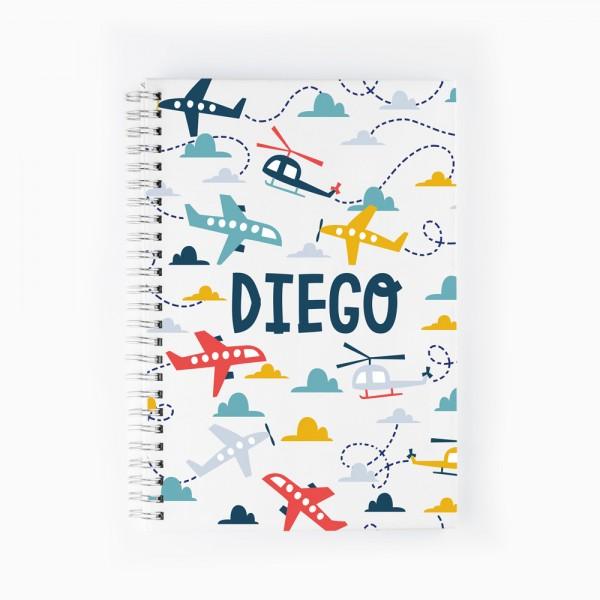 Cuaderno Aviones