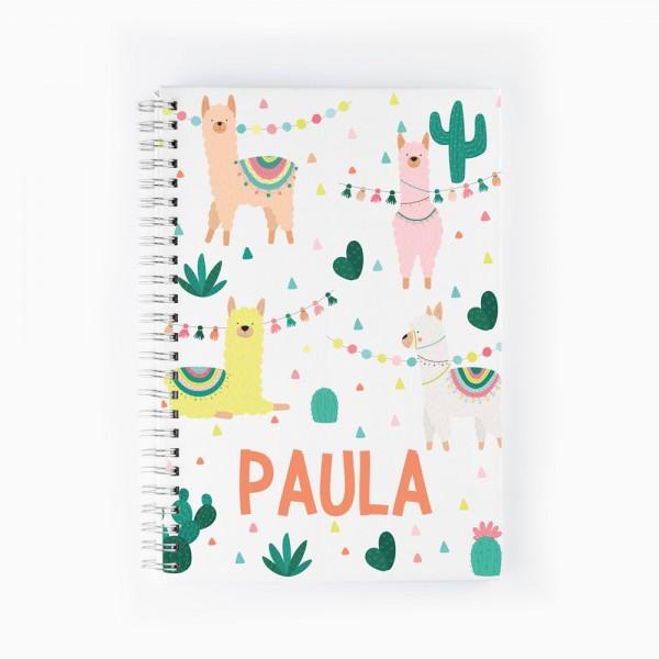 Cuaderno Llamas